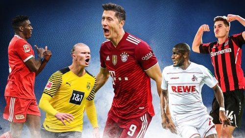 Fußball, Bundesliga: Mittelstürmer - eine importierte Elite