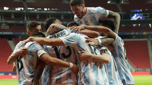 Copa América: Argentinien besiegt Uruguay