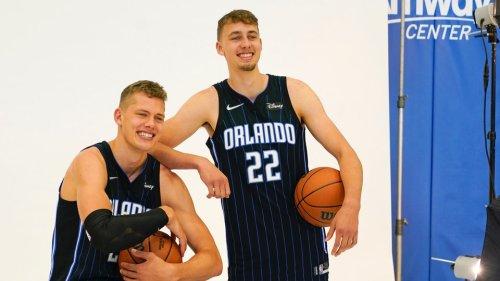 Basketball: Die Brüder Franz und Moritz Wagner starten in die NBA-Saison - mit unterschiedlichen Vorzeichen