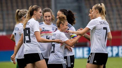 DFB-Frauen vor WM-Qualifikation gegen Serbien in Torlaune