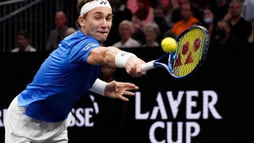 Laver Cup: Europas Tennisspieler führen klar gegen Team Welt