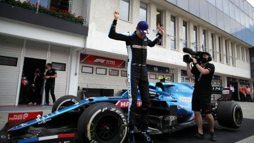 Irres Ungarn-Rennen: Sensationssieger Ocon - Vettel Zweiter