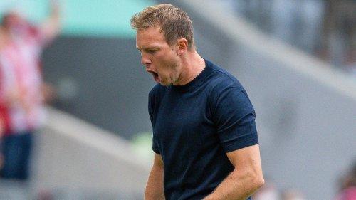 """Bayerns Trainer Nagelsmann: """"Hatte viel Spaß"""""""