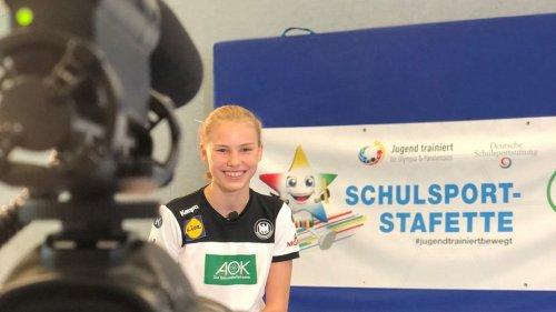 """""""Schulsport-Stafette"""" - Jugend trainiert für... auf kreativen Wegen"""