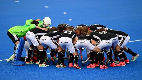 04.06. | das Eröffnungsspiel bei der Hockey-EM der Männer: Deutschland gegen Wales, ab 17 Uhr