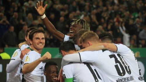 DFB-Pokal, 2. Runde: Borussia Mönchengladbach gegen FC Bayern München 5:0