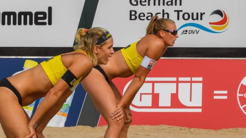 Beachvolleyball-DM: Ludwig/Körtzinger im Viertelfinale
