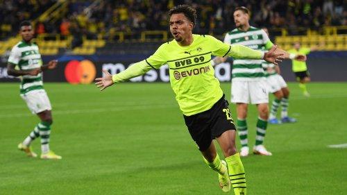 Fußball, Champions League: Borussia Dortmund gegen Sporting Lissabon 1:0, 2. Spieltag