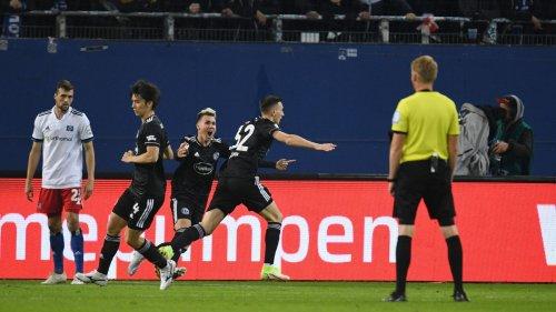 Hamburger SV vergibt Heimsieg gegen zehn Düsseldorfer