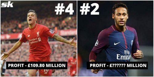 5 transfers that yielded the highest profit in football history