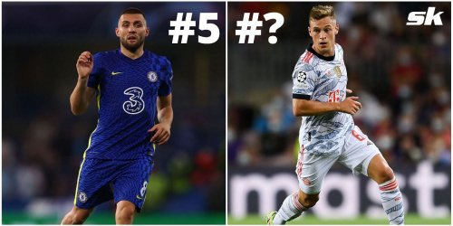 Ranking the 5 best midfielders in the world right now based on ratings