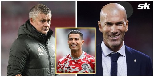 Manchester United reach out to Zinedine Zidane on Cristiano Ronaldo's recommendation - Reports