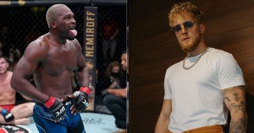 Derek Brunson responds to Jake Paul's callouts with a picture outside Floyd Mayweather's gym
