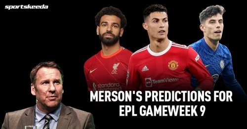 Paul Merson's predictions for Manchester United vs Liverpool and other Premier League GW 9 fixtures