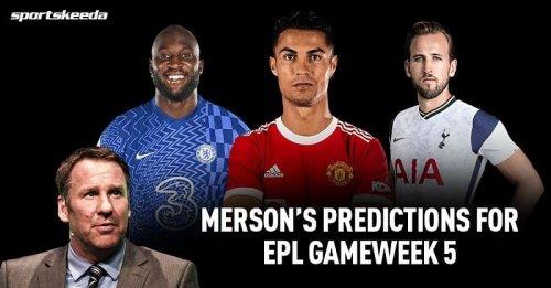 Paul Merson predictions for Tottenham vs Chelsea and other Premier League GW 5 fixtures