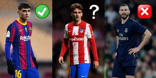 Most valuable La Liga XI right now (September 2021)