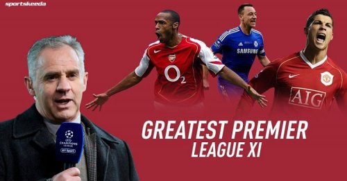 Jim Beglin's greatest Premier League XI of all-time
