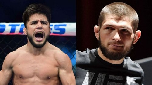 """""""If you want a picture, you're going to wrestle"""" - Henry Cejudo reveals Khabib Nurmagomedov made him wrestle Zubaira Tukhugov if he wanted a picture of him"""