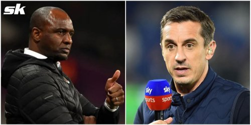 """""""He did good work', 'I liked his energy"""" - Patrick Vieira and Gary Neville praise Chelsea loanee for performance against Arsenal"""