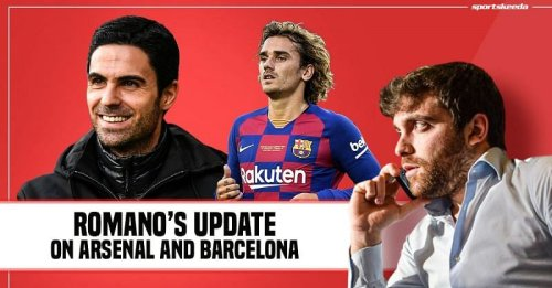 Fabrizio Romano's Transfer Roundup: Arsenal's plans for midfield, Update on Barcelona's plans for Griezmann and more