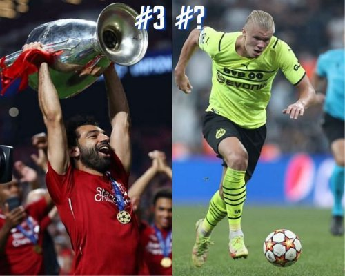 5 most valuable players in the UEFA Champions League in the 2021-22 season