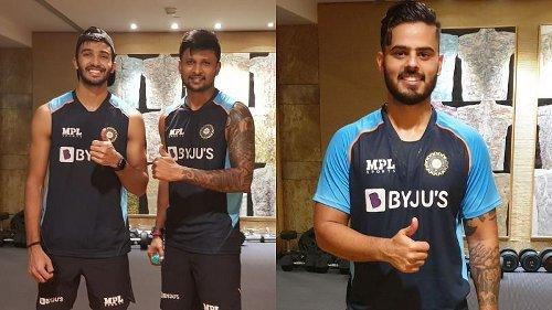 BCCI shares photos of Sri Lanka-bound uncapped players from Mumbai