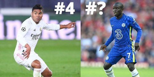 5 defensive midfielders with the best tackling ability in the world right now