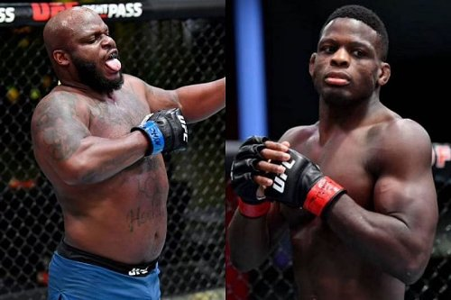 """""""God should have let me kept mine"""" - Derrick Lewis hilariously points out how Phil Hawes has a full head of hair during UFC Vegas 26 fight"""