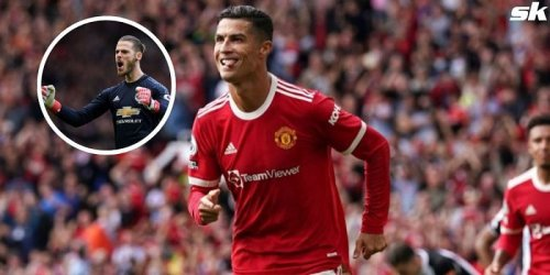 """""""I think the impact is already there"""" - De Gea hails 'legend' Cristiano Ronaldo's influence at Manchester United"""