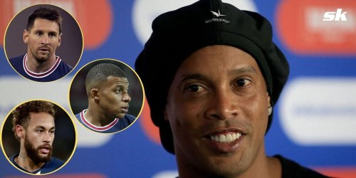 """""""When you have great players like that, it's difficult to not imagine it happening"""" - Ronaldinho talks up PSG's UEFA Champions League hopes"""