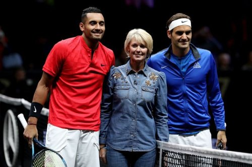 """Nick Kyrgios says his 2017 match against Roger Federer """"set the tone"""" for all future Laver Cup editions"""