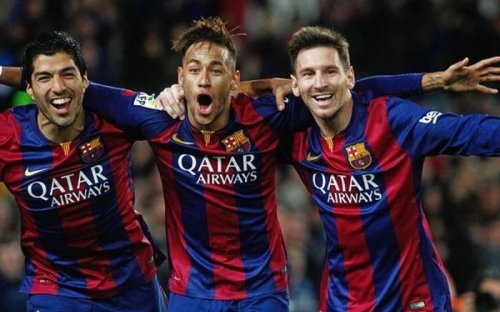 Top 5 active players Lionel Messi has played with