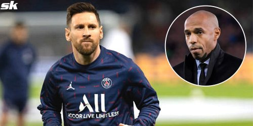 Thierry Henry snubs Lionel Messi while answering question about the 'best player he played with'