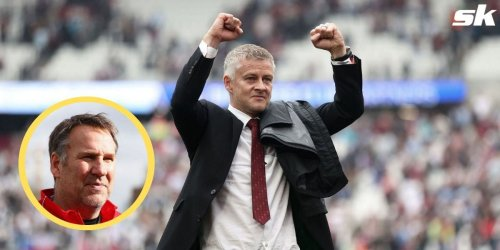 """""""He is very fortunate to still be in a job"""" - Paul Merson believes Manchester United boss Solskjaer is 'as lucky as can be' as a manager"""