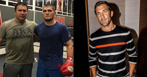 """""""I mean it's completely different"""" - Luke Rockhold compares new coach Khabib Nurmagomedov to AKA head coach Javier Mendez"""