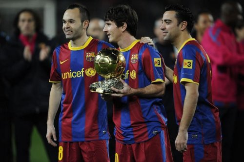 Greatest XI to have played with Lionel Messi