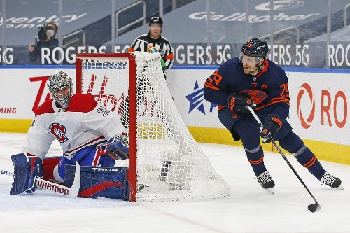 Connor McDavid leads the Edmonton Oilers past the Montreal Canadiens