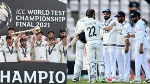 वर्ल्ड टेस्ट चैंपियन न्यूज़ीलैंड पर हुई धन की बारिश, भारतीय टीम को मिले इतने करोड़ रूपये