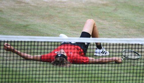 Zverev verpatzt Wimbledon-Generalprobe: Ein bisschen müde