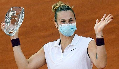Tennis: Aryna Sabalenka gewinnt Finale in Madrid gegen Ashleigh Barty