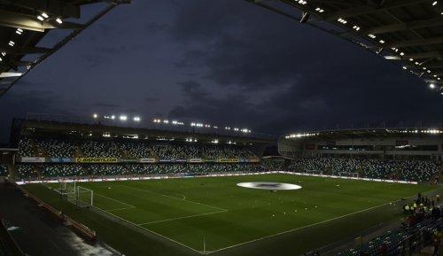 UEFA-Supercup in Belfast vor 13.000 Zuschauern