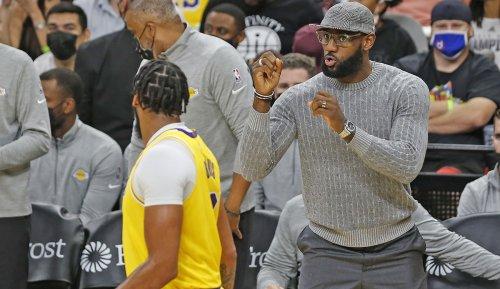 NBA, Los Angeles Lakers News: LeBron James fehlt mit Knöchelproblemen - das sagt Frank Vogel