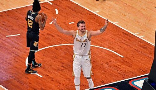 NBA: Luka Doncic führt die Dallas Mavericks mit unfassbarem Buzzerbeater zum Sieg in Memphis