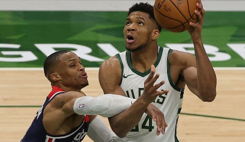 NBA: Milwaukee Bucks trotzen nächster Show von Westbrook und Beal - Giannis Antetokounmpo foult aus