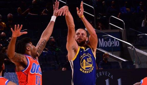 NBA: Stephen Curry kann Jordan-Rekord brechen: ... dann passieren magische Dinge