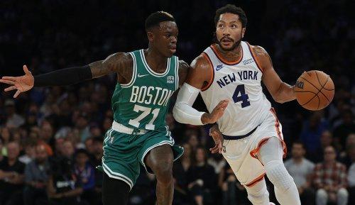 NBA: Dennis Schröder verliert irres Boston Celtics-Debüt gegen die New York Knicks nach zweifacher Verlängerung