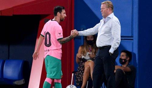 FC Barcelona - Ronald Koeman über Lionel Messi: Er war ein Tyrann im Training