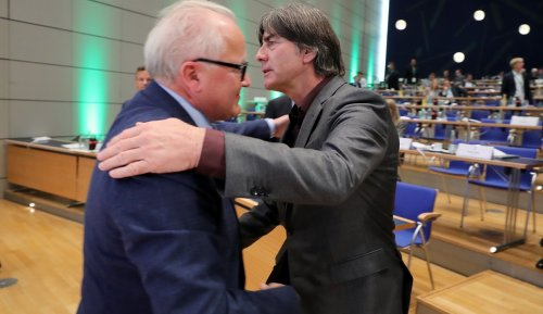 DFB-Präsident Keller: Löw ist einer der besten Turniertrainer der Welt