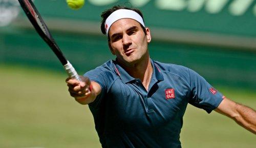 Tennis - Rückschlag vor dem großen Ziel Wimbledon: Roger Federer gibt Rätsel auf
