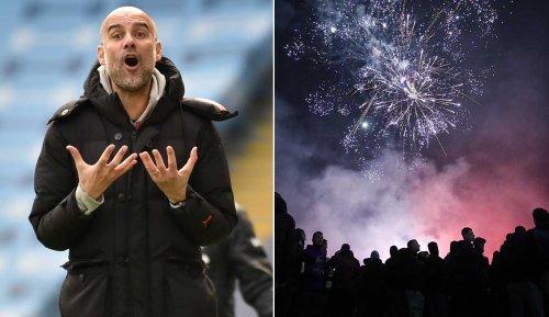 BVB gegen Manchester City: City-Profis durch Feuerwerk um die Nachtruhe gebracht